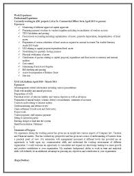 Experienced Resume Template Impressive Resume Template For Experienced Candidates Best Resume Examples