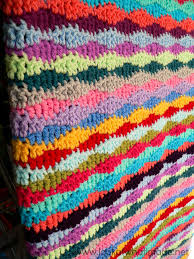 Easy Crochet Blanket Patterns For Beginners Awesome Lazy Waves Crochet Blanket Pattern AllFreeCrochetAfghanPatterns