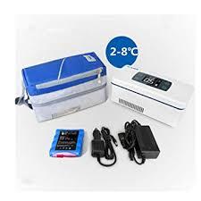 eleoption portable insulin cooler pen box cine fridge refrigerator travel case keeps insulin cool cold storage
