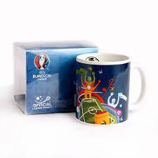 a 2016 france football european cup memorative mug send fans soccer event gifts