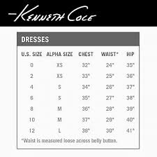 Kenneth Cole Pants Size Chart Size Guide