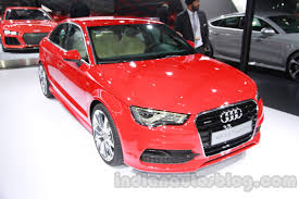 new car launches in jan 2014 indiaAudi A3 sedan lined up for midAugust launch