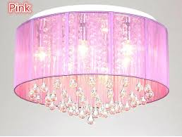 pink light fixture ingenious ideas ceiling new shade crystal chandelier pendant