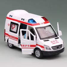 image is loading for kids gifts 1 36 alloy emergency ambulance