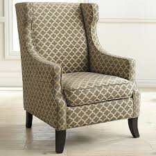 Wingback Chair Alec Gray Trellis Wing Chair Pier 1 Imports