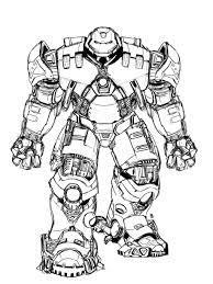 Tổng Hợp Tranh Tô Màu Iron Man Đẹp Nhất Cho Bé