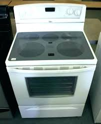 glass top stove burner not working flat top stove smooth top range oven not working lg glass top stove