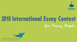 goi peace foundation unesco international essay contest for  application