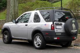 File:2002-2003 Land Rover Freelander two-door -- 01-01-2012 rear ...