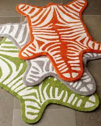 zebra bath rug jonathan adler