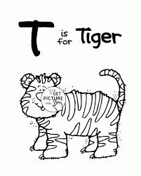 Letter T Coloring Page Free Pages For Adults Printable Remarkable