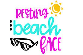 Do you ever get asked questions like. 18 Resting Beach Face Svg Beach Svg Summer Svg Resting Beach Etsy Download Resting Beach Face Svg Pictures