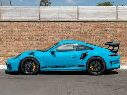 The gt2 rs also serves as the swan song of the porsche 911's 991 generation that ends production in the 2019 model year. 2018 Used Porsche 911 Gt3 Rs Miami Blue