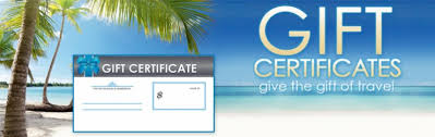 Cruise Gift Certificate Template Sell Fvacations Cruise Gift Certificate Template