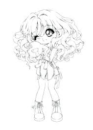 Anime Coloring Pages To Print Girls Coloring Pages To Print Anime