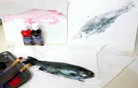 how to make art print gyotaku art fish prints cotton ridge create create art prints