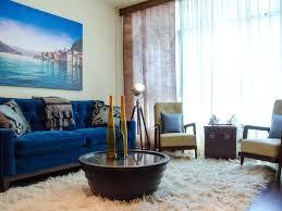 Living Room Blue Cool Down Your Design With Blue Velvet Furniture Hgtvs
