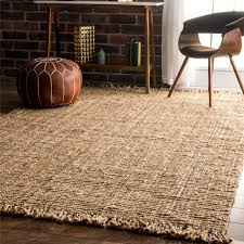 nuLoom Handmade Natural Jute Braided Reversible Area Rug (6' x 9') - Free  Shipping Today - Overstock.com - 13488931