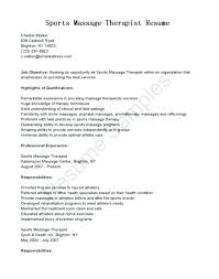 Occupational Therapy Resume Template massage therapist sample resume lidazayiflama 96