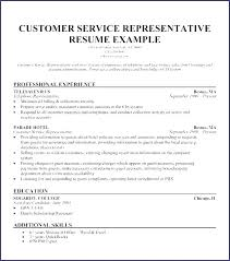 Resume Templates For Customer Service Representatives Inspiration Customer Service Representative Resume Sample Best Retail Customer