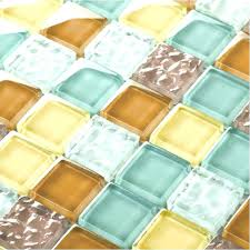 multi colored tile backsplash multi color glass tile crystal glass tiles multi color s kitchen mosaic art wall floor decor candy color copper colored