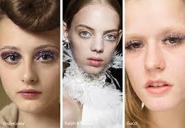 spring summer 2018 makeup trends glitter eye makeup eyeshadow
