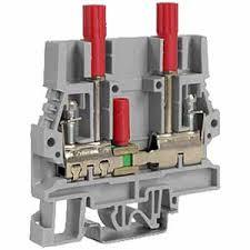 sliding link terminal blocks shorting blocks terminal block screw clamp connections