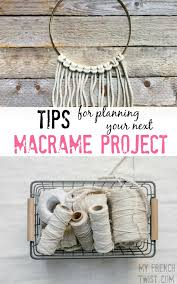 tips for macrame - myfrenchtwist.com