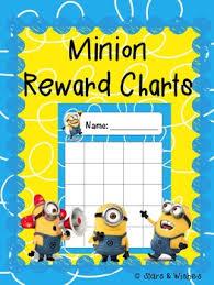 Minion Behavior Chart Minion Reward Charts Opetus