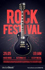 Concert Poster Design Rock Festival Concert Party Flyer Or Poster Design