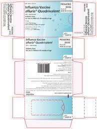 Ndc 33332 319 Afluria Quadrivalent Influenza A Virus A