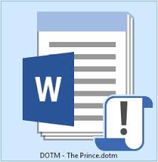 Dotm Extension Mte Explains Common Word Processor File Formats