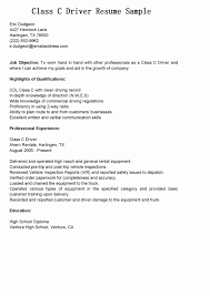 Truck Driver Resume Objective Statement Fuel Truck Driver Cover Letter abcom 1