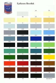 Epifanes Colour Chart Epifanes Color Chart Hexmesses Com