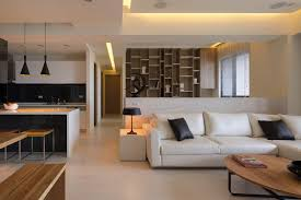 elegant design home. Minimalist Elegant Interior Living Room Design Of The Open Concept Homes That Has White Modern Sofas And Black Cushion Can Add Beauty Inside Home