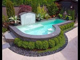 Small Pool Designs For Small Backyards