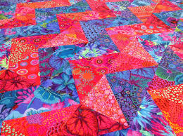 gorgeous! zig zag/chevron quilt using kaffe fassett fabrics, by ... & gorgeous! zig zag/chevron quilt using kaffe fassett fabrics, by frances, on Adamdwight.com