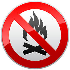 Image result for no wood fire clipart