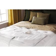 Comfy Toes Queen and King Heated Mattress Pad Sunbeam