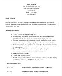 Nursing Student Resume Examples Custom Nursing Student Resume Example 28 Free Word PDF Documents