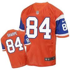 Broncos Denver Men's Shannon Jersey - Nike Elite Throwback Orange Sharpe aacbacccdcb|Joe Haden (Getty Images)