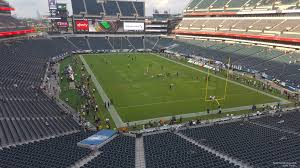 seat view for lincoln financial field section m9 row 13