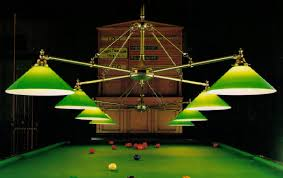 pool table light style billiard room lighting