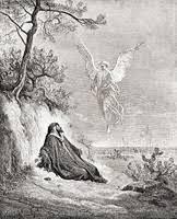 ギュスターヴモロー 画家 聖書 天使 神様 都会 芸術の画像素材