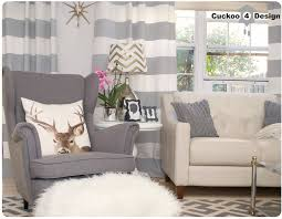 grey strandmon wing chair image
