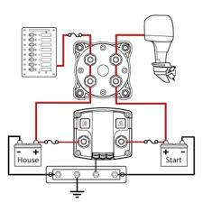 perko dual battery switch wiring diagram 3 Battery Boat Wiring Diagram boat wiring diagram dual batteries solidfonts Boat Dual Battery Wiring Diagram