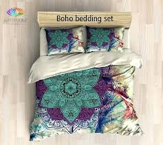 boho bedding queen bohemian bedding mandala queen king full twin duvet cover set flower sacred balance boho bedding queen small boho bedding sheets