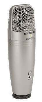 Студийный конденсаторный USB <b>микрофон Samson C01U Pro</b> ...