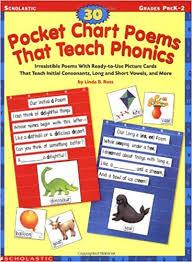 Amazon Com 30 Pocket Chart Poems That Teach Phonics