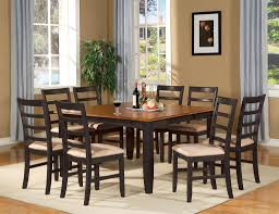 dining table that seats 10: details about  pc square dinette dining room table set and  chairs